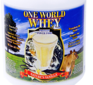 One World Whey Portein Powder Review