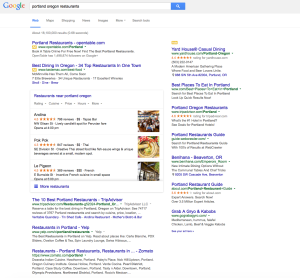 Google Has Moved Their Top Search Results to a 3 Pack Listing