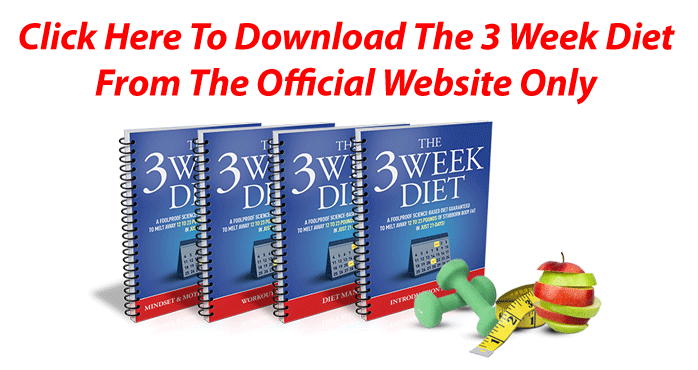 the 3 week diet plan