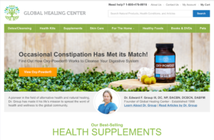 Global Healing Center Review And Products